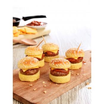 20 mini cheeseburger Burgard pour l'apéritif