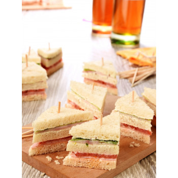 64 Mini Clubs sandwiches