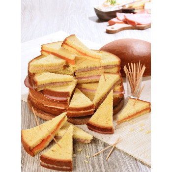Brioche fourrée 40 toasts