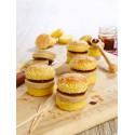20 Mini Burgers au bloc de Foie gras pour l'apéritif